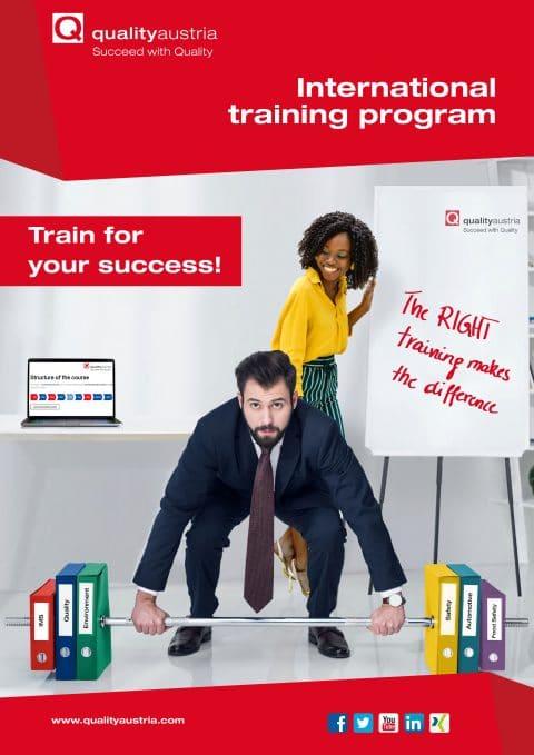 Cover of the folder International training progam